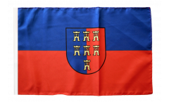 Transylvanian Saxons Flag with sleeve