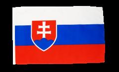 Slovakia Flag - 12 x 18 inch