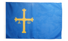 Spain Asturias Flag with sleeve