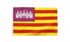 Spain Balearic Islands Flag with sleeve