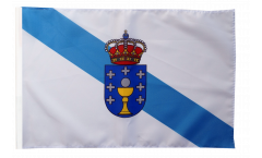 Spain Galicia Flag with sleeve