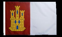 Spain Castile-La Mancha Flag with sleeve