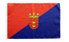 Spain Lanzarote Flag with sleeve