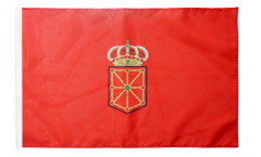 Spain Navarre Flag with sleeve
