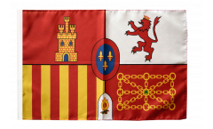 Spain Royal Flag with sleeve