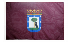 Spain City of Madrid Flag with sleeve