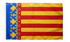 Spain Valencia Flag with sleeve