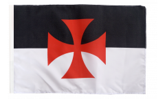 Temple Knight Flag with sleeve