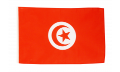Tunisia Flag with sleeve