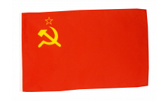 USSR Soviet Union Flag with sleeve