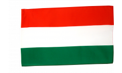 Hungary Flag with sleeve