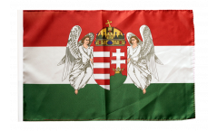 Kingdom of Hungary 1867-1918 Flag with sleeve