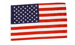 USA Flag with sleeve