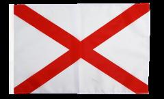 USA Alabama Flag - 12 x 18 inch