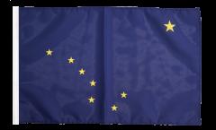USA Alaska Flag - 12 x 18 inch