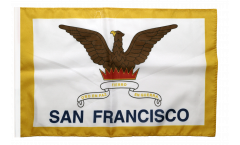 USA City of San Francisco Flag with sleeve