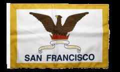 USA City of San Francisco Flag - 12 x 18 inch