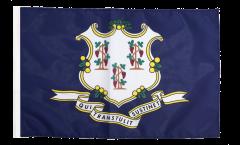 USA Connecticut Flag - 12 x 18 inch