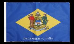 USA Delaware Flag - 12 x 18 inch