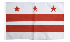 USA District of Columbia Flag - 12 x 18 inch