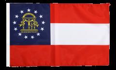 USA Georgia Flag with sleeve