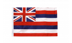 USA Hawaii Flag - 12 x 18 inch