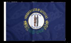 USA Kentucky Flag with sleeve