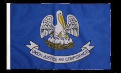 USA Louisiana Flag - 12 x 18 inch