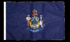USA Maine Flag with sleeve