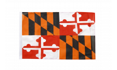 USA Maryland Flag with sleeve