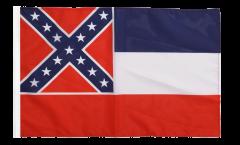 USA Mississippi Flag - 12 x 18 inch