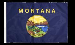 USA Montana Flag - 12 x 18 inch