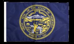 USA Nebraska Flag - 12 x 18 inch