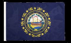 USA New Hampshire Flag - 12 x 18 inch