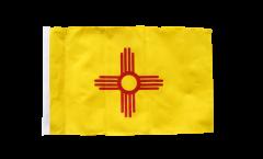 USA New Mexiko Flag - 12 x 18 inch