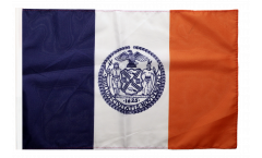 USA New York CITY Flag with sleeve