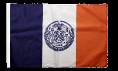 USA New York City Flag - 12 x 18 inch