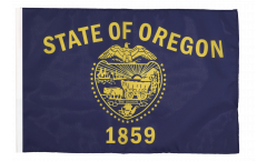 USA Oregon Flag - 12 x 18 inch