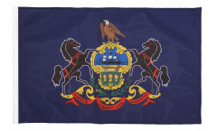 USA Pennsylvania Flag - 12 x 18 inch