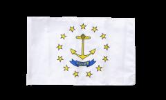 USA Rhode Island Flag - 12 x 18 inch