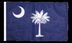 USA South Carolina Flag - 12 x 18 inch