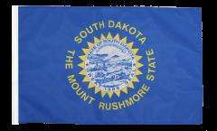 USA South Dakota Flag - 12 x 18 inch