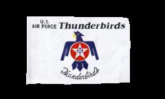 USA Thunderbirds US Air Force Flag - 12 x 18 inch