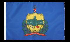 USA Vermont Flag - 12 x 18 inch