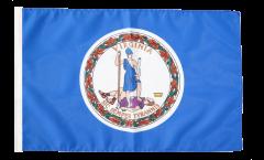 USA Virginia Flag - 12 x 18 inch
