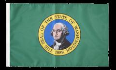 USA Washington Flag with sleeve