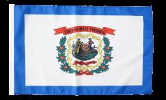 USA West Virginia Flag - 12 x 18 inch