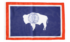 USA Wyoming Flag - 12 x 18 inch