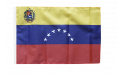Venezuela 7 stars with coat of arms 1930-2006 Flag - 12 x 18 inch