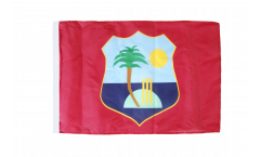 West Indies Flag - 12 x 18 inch